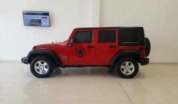 Jeep Wrangler Unlimited Sport 3.8 Mt 4ptas. (197hp) lleno